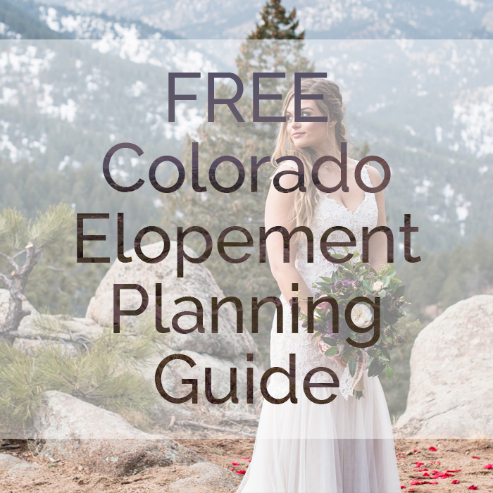 free colorado elopement planning guide