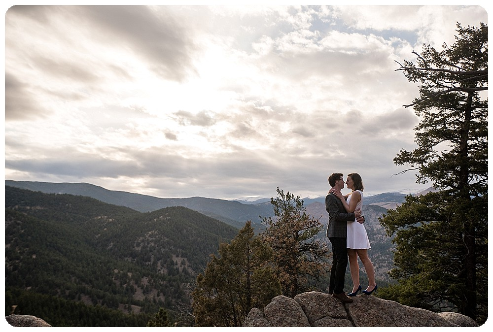 Boulder Colorado Elopement Couples Session