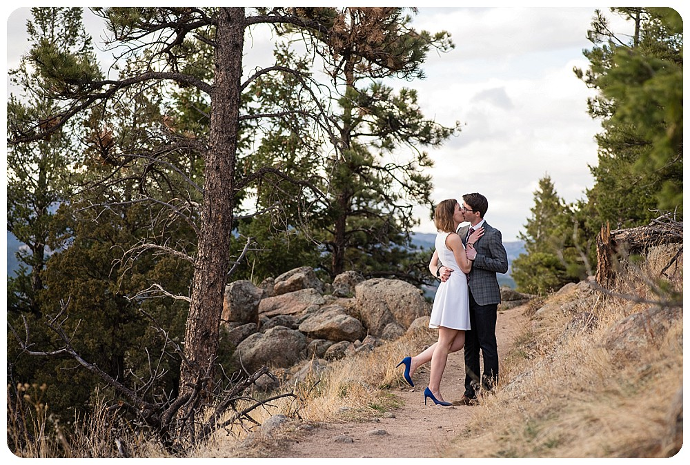 Boulder Colorado Elopement Couples Photography