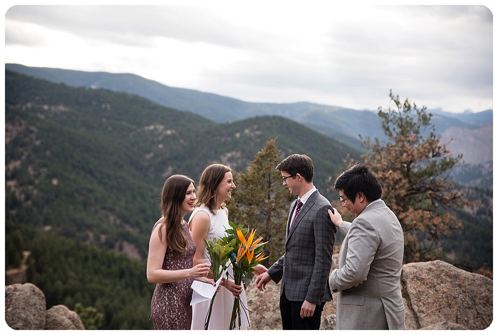 Boulder Colorado Elopement Ceremony