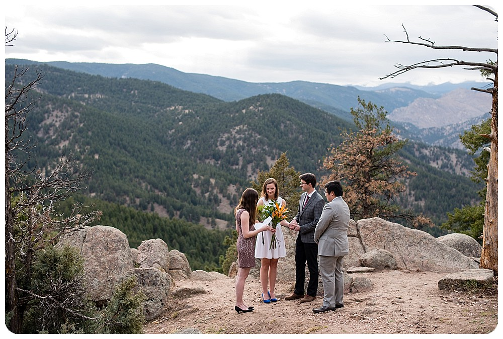 Boulder Colorado Elopement by Rayna McGinnis
