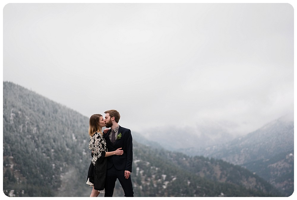Moody Elopement Photos by Rayna McGinnis