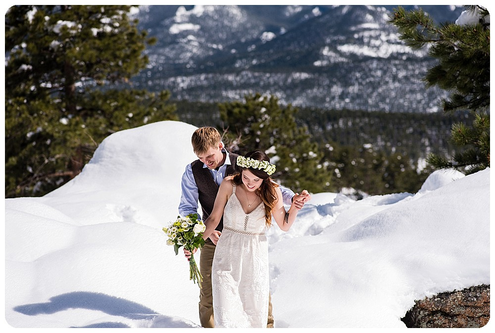 Destination Mountain Elopement by Rayna McGinnis