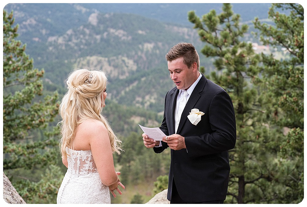 Colorado Destination Wedding Photography by Rayna McGinnis