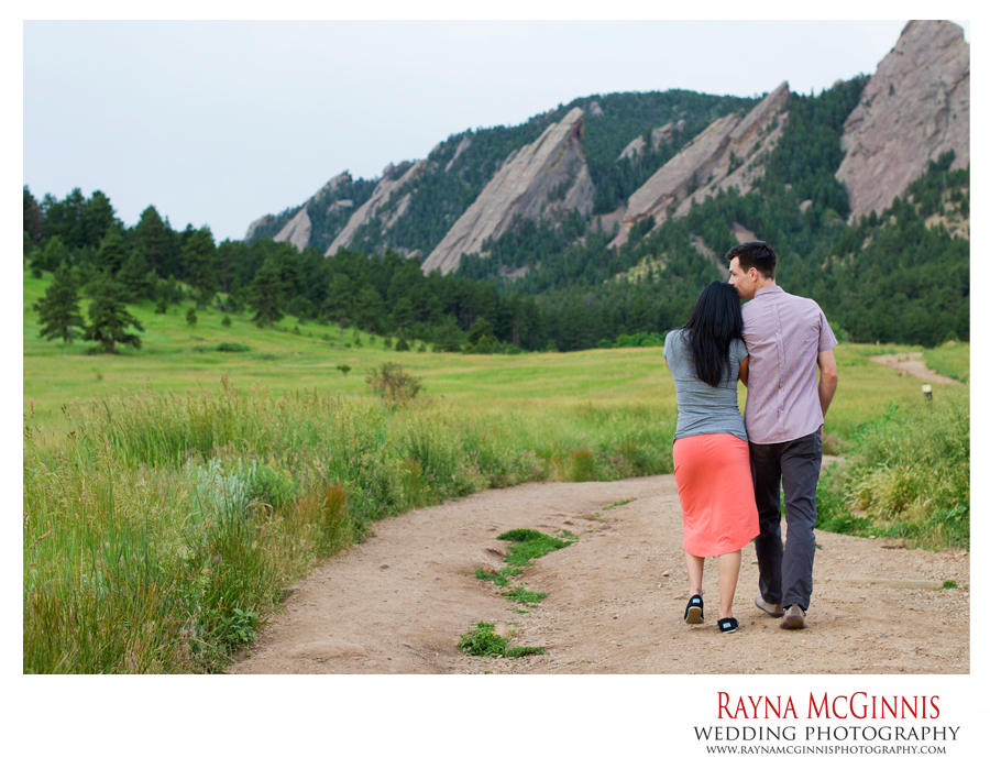Chautauqua Park Engagement Session