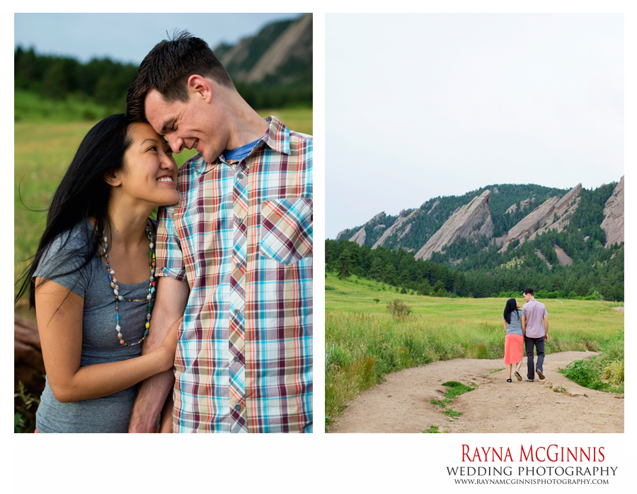 Boulder Engagement Photography at Chautauqua Park in Boulder, Colorado