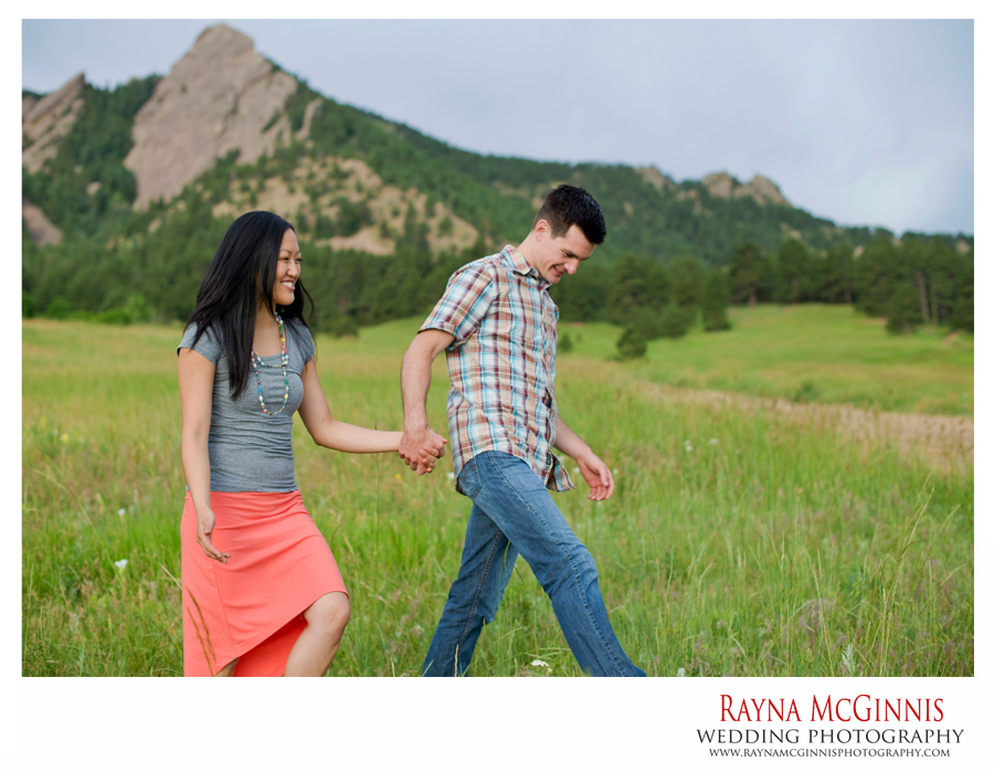 Boulder Engagement Photography at Chautauqua Park
