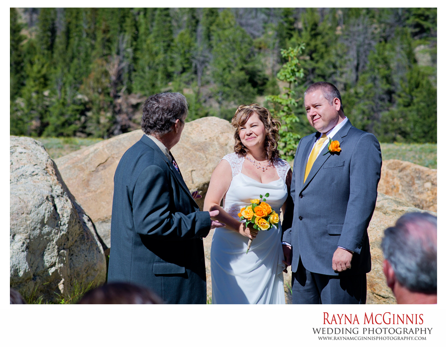 Destination Wedding Ceremony at Clear Lake