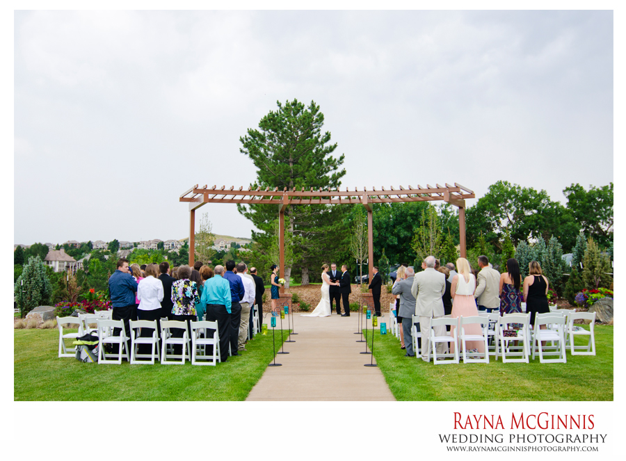 Ceremony Site at the Lone Tree Golf Club