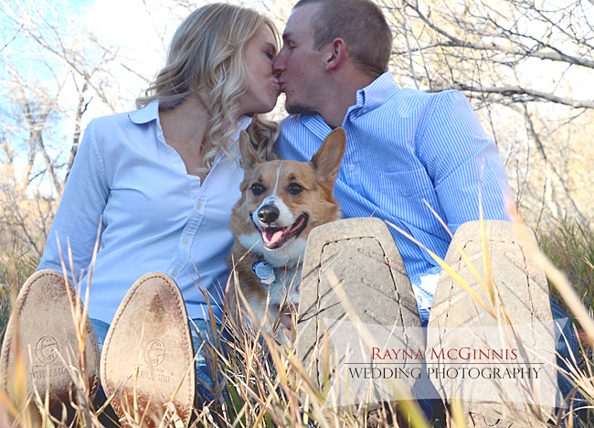 Fort Collins Engagement Photography with Dog