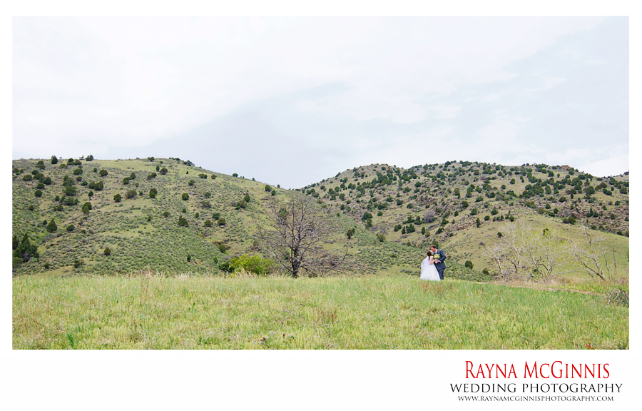 Golden Wedding Photography at Red Rocks in Colorado