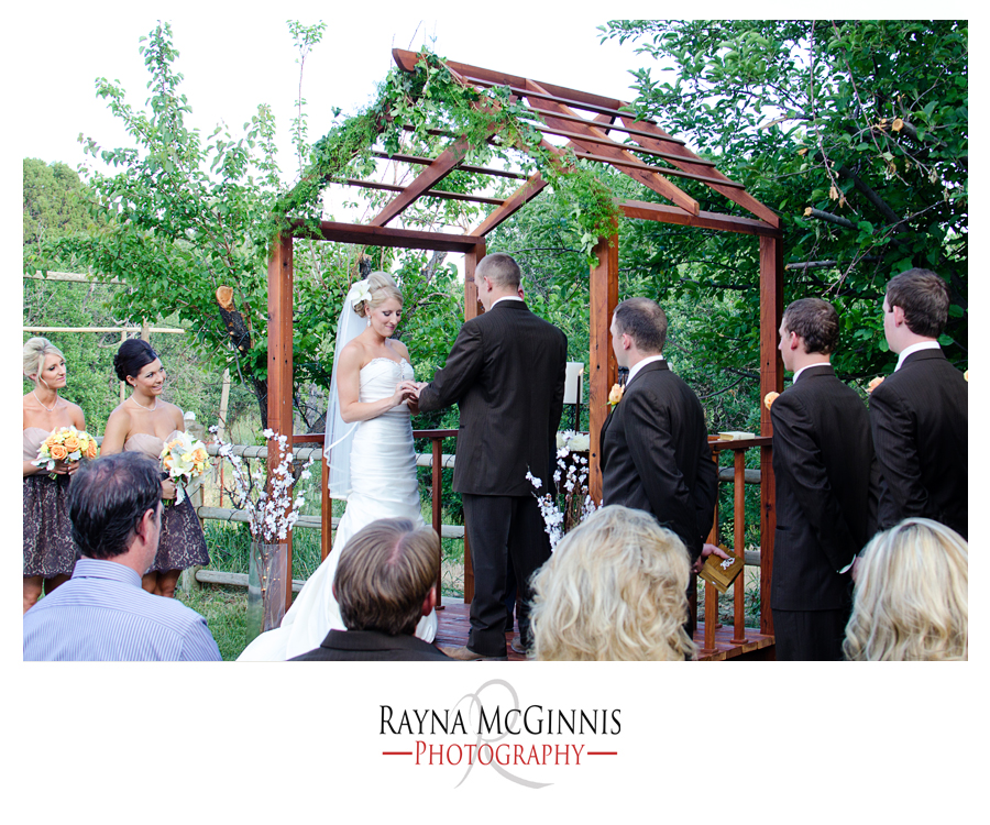 Wedding Ceremony in Littleton, Colorado