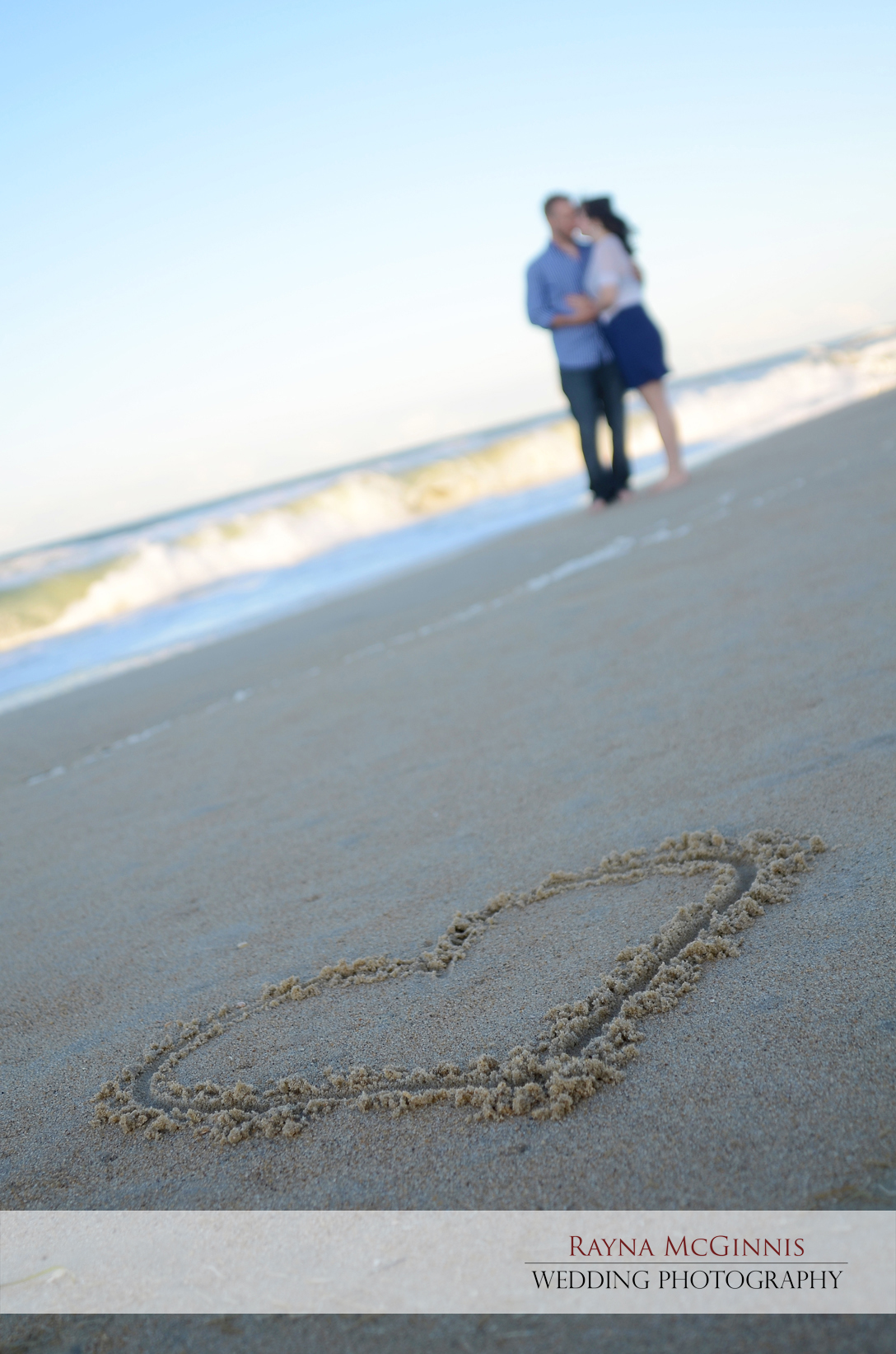 Outer Banks Engagement Photography Session by Rayna McGinnis