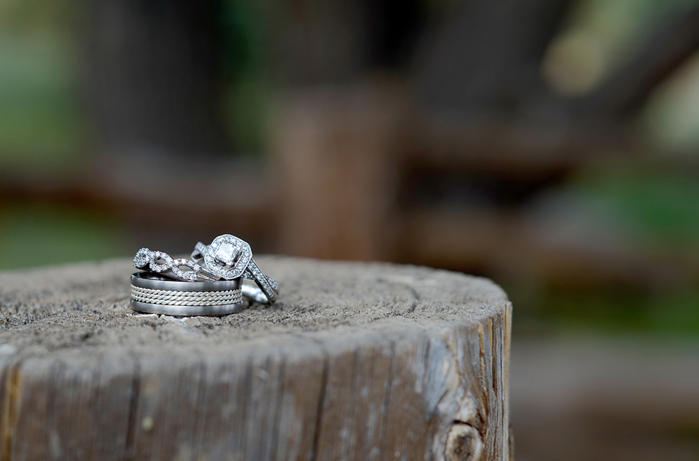 Boulder Wedding Photographer - Ring Shot