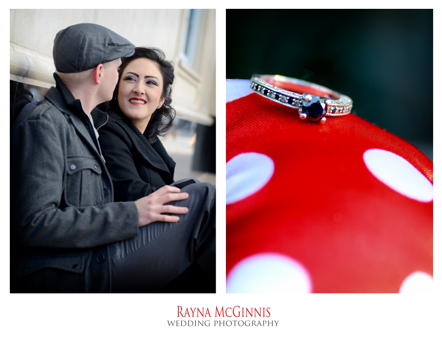 Engagement Session in downtown Denver