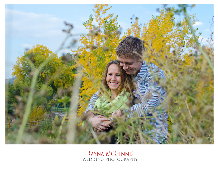 Golden Engagement Photography Picture