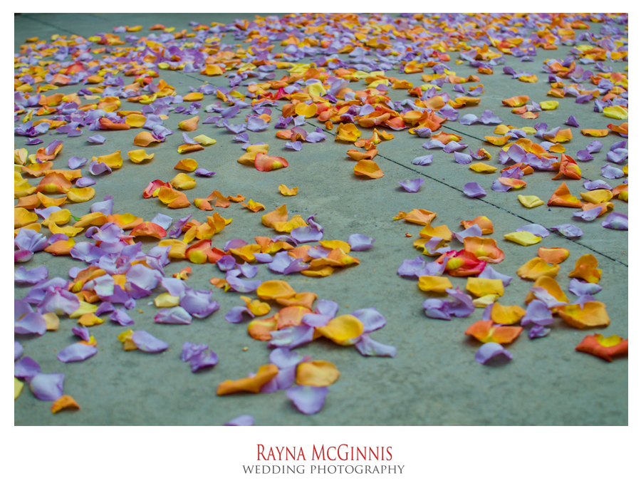 flower petals at Grant Humphrey's Mansion