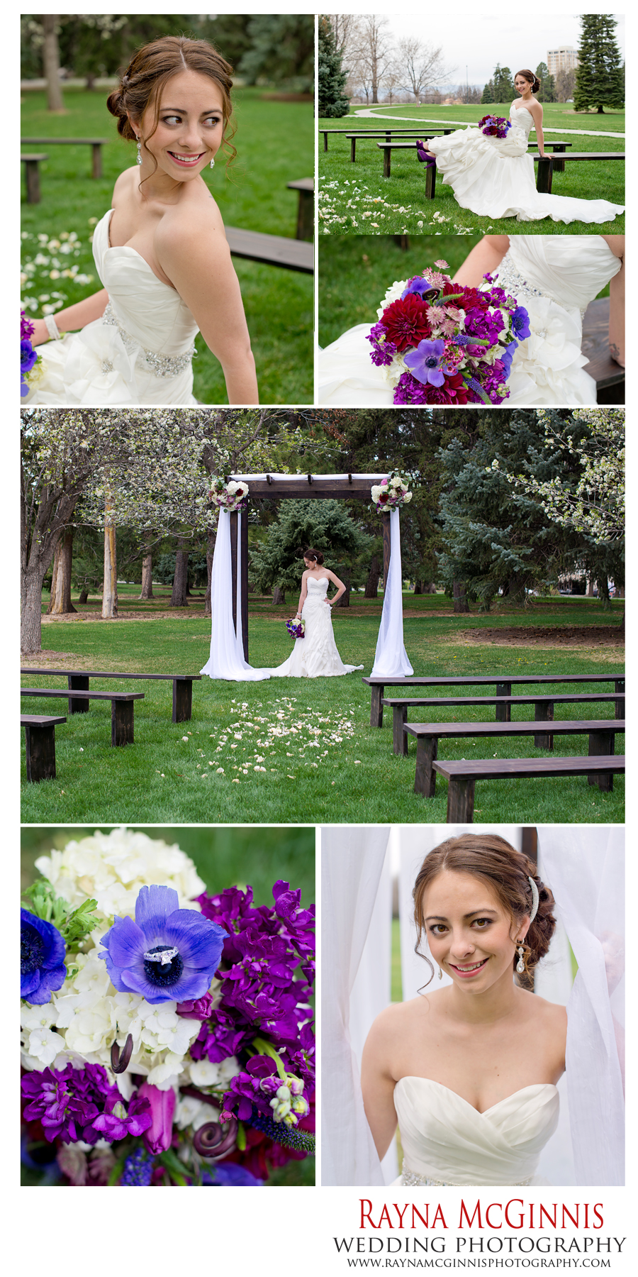 denver wedding photography at cheesman park with model Jessica