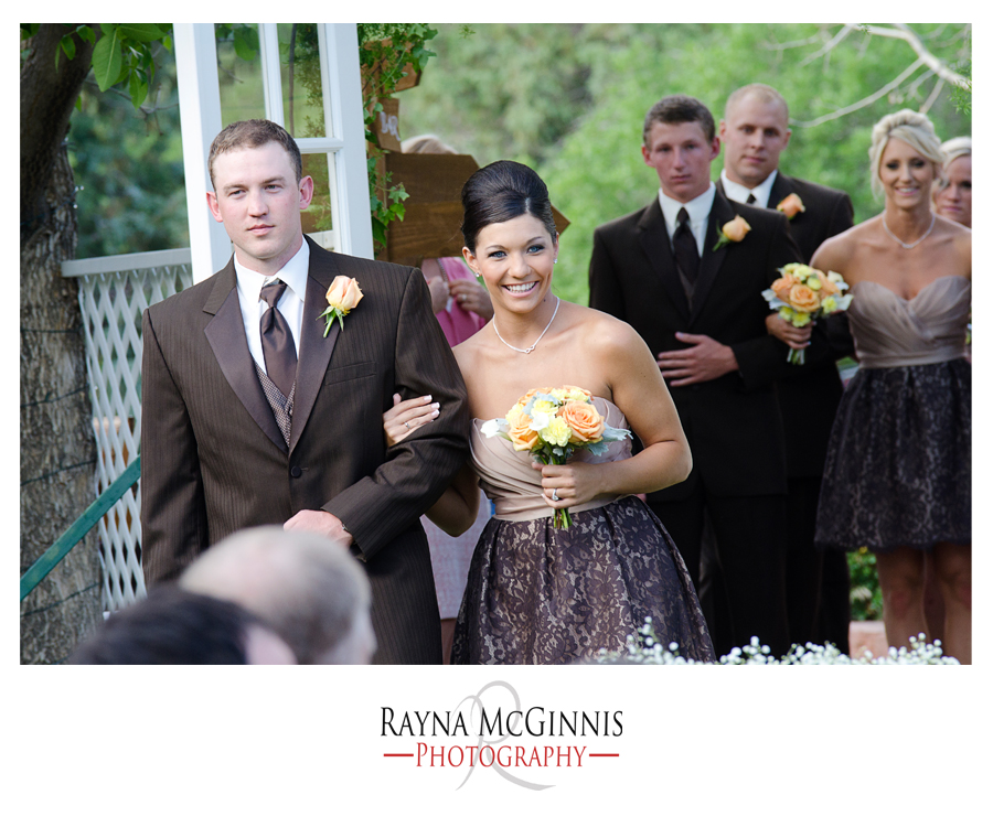 Backyard Wedding in Littleton, Colorado