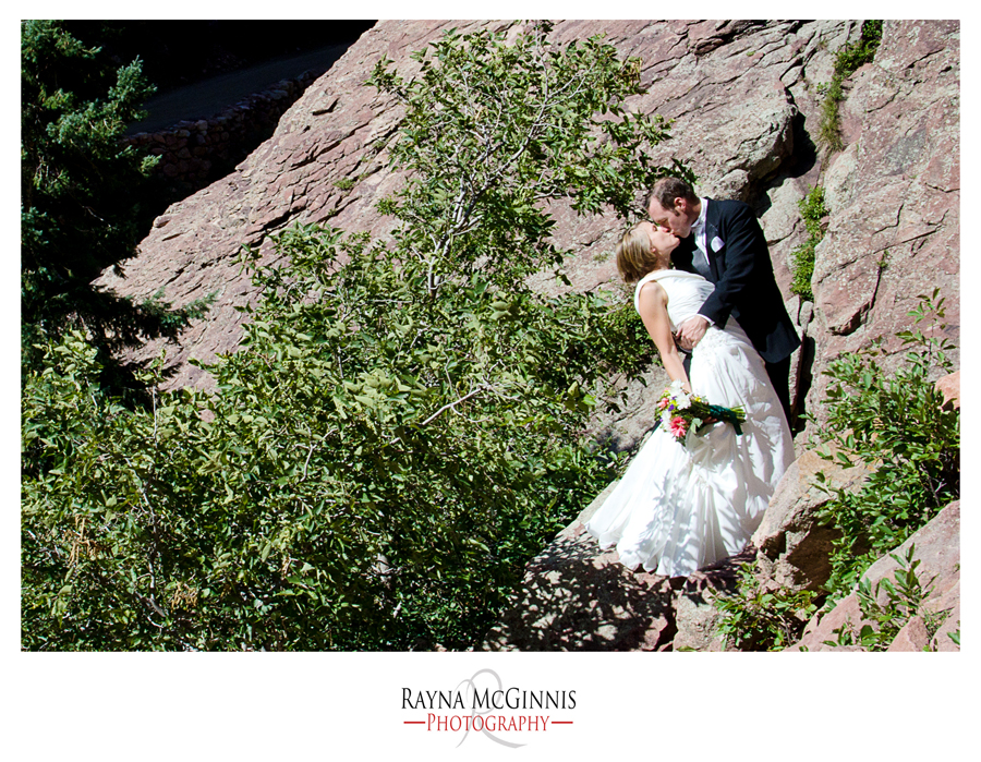 Wedding Photography at Eldorado Canyon State Park by Wind Tower