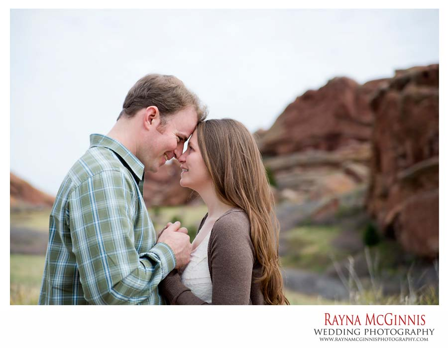 Red Rocks Engagement Session
