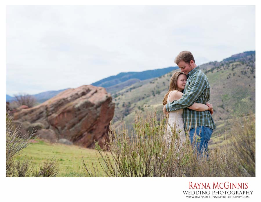 Golden Engagement Photography Session at Red Rocks in Colorado