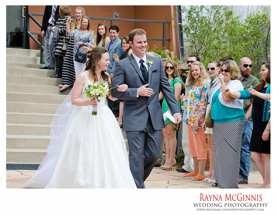 Golden Wedding Photography at the Chapel at Red Rocks