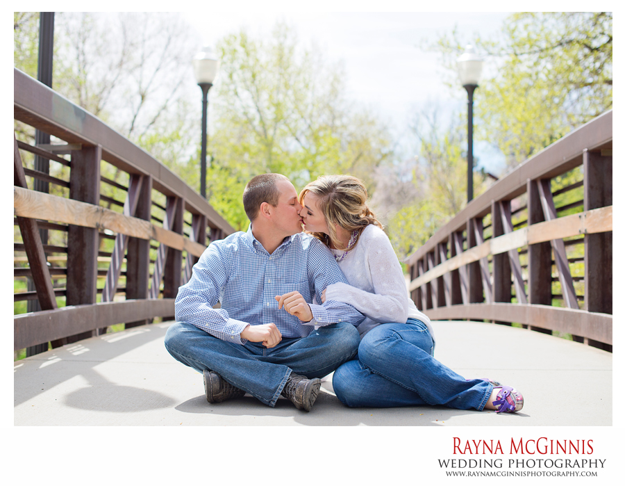 Golden Engagement Session at Clear Creek Trail