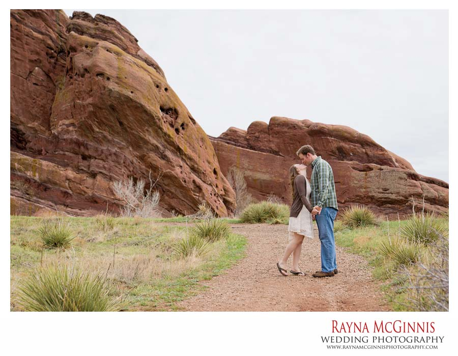 Golden Engagement Photography Session at Red Rocks