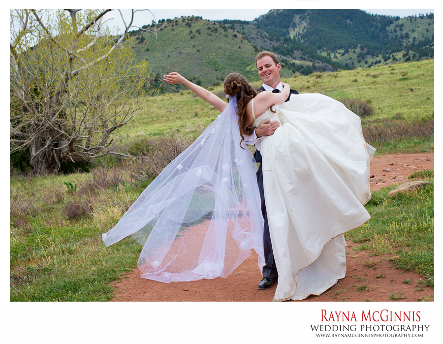 Golden Wedding Photography at Red Rocks Park