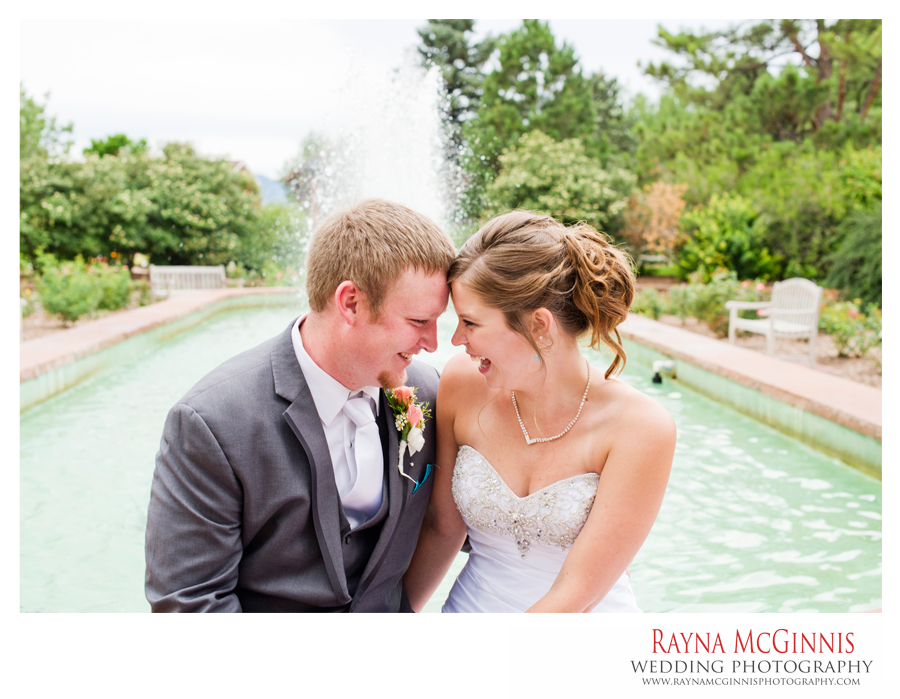 Hudson Garden's Wedding Photography at the Rose Garden