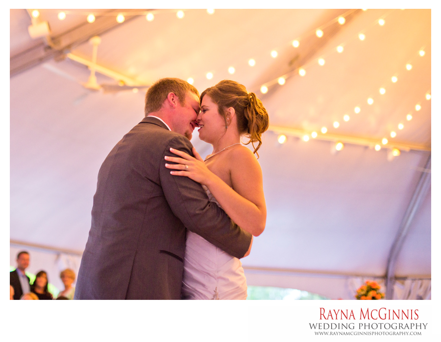 First Dance at the Hudson Gardens Event Center