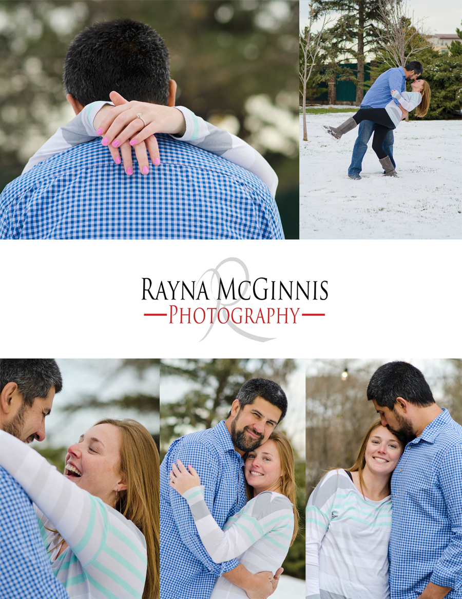 Lafayette Engagement Photography with Stephanie and Cassell at the Dove House
