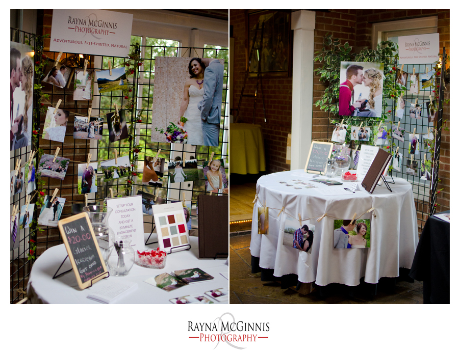 Rayna McGinnis Photography at the Lionsgate Bridal Show