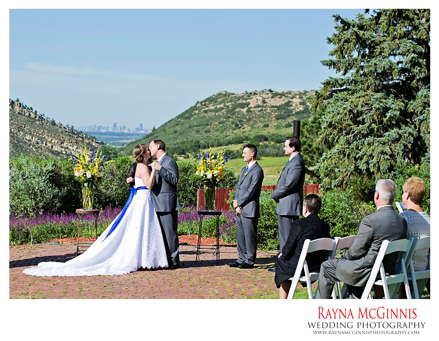Wedding Ceremony at the Manor House