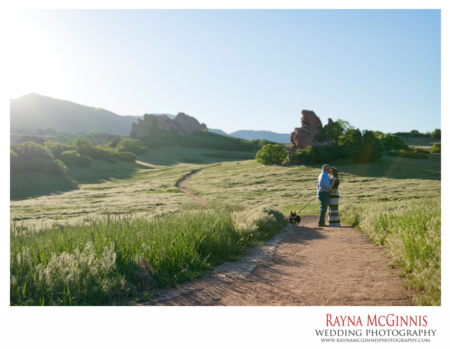 Littleton Engagement Photography Session at South Valley Park
