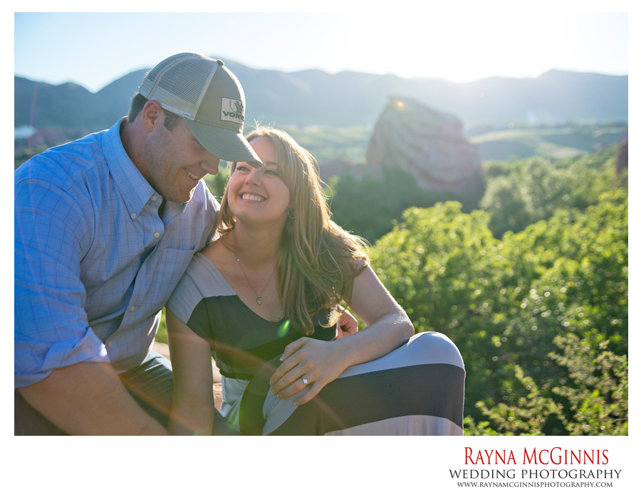Littleton Engagement Pictures at South Valley Park