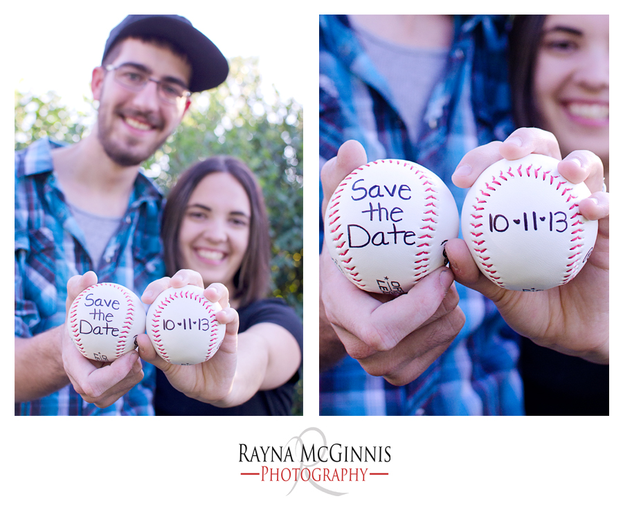 Save the Date Baseballs