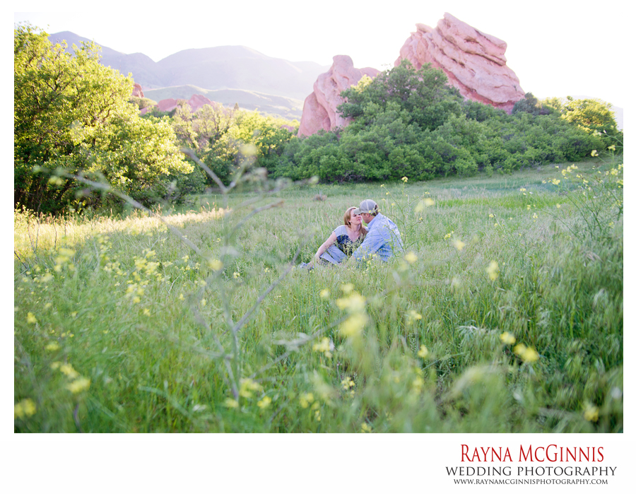 Engagement Photography at South Valley Park in Littleton