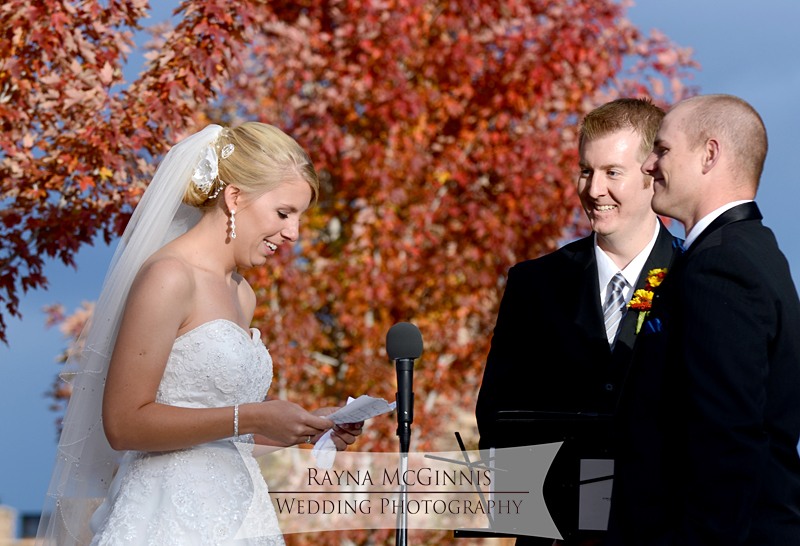 Wedding Ceremony at Spruce Mountain Guest Ranch