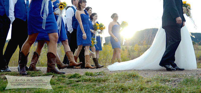 Spruce Mountain Guest Ranch Wedding Photography