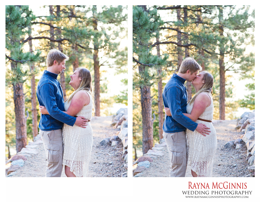 Boulder Engagement Picture Session on Flagstaff Mountain