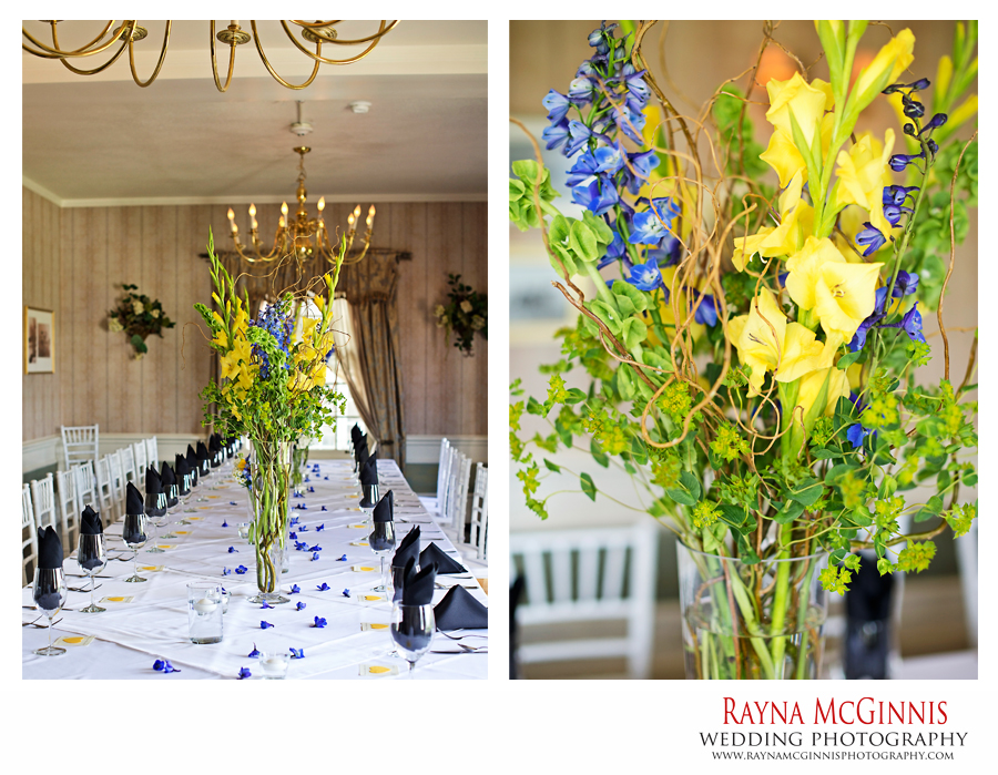 Wedding flowers by Fleur de Liz at The Manor House