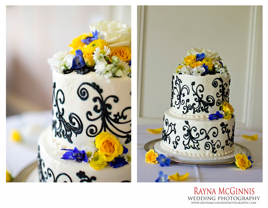 wedding cake by cakes amore in denver, colorado