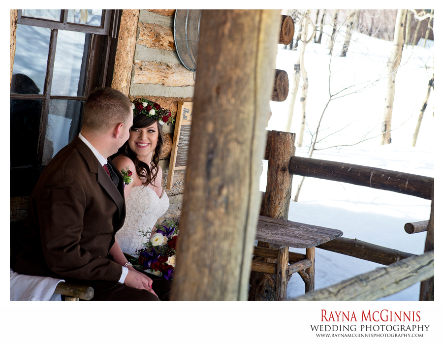 Peaceful Valley Ranch Colorado Wedding Winter Wedding Peaceful Valley