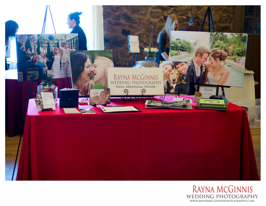 Boettcher Mansion Wedding Show - Rayna McGinnis Photography Set Up