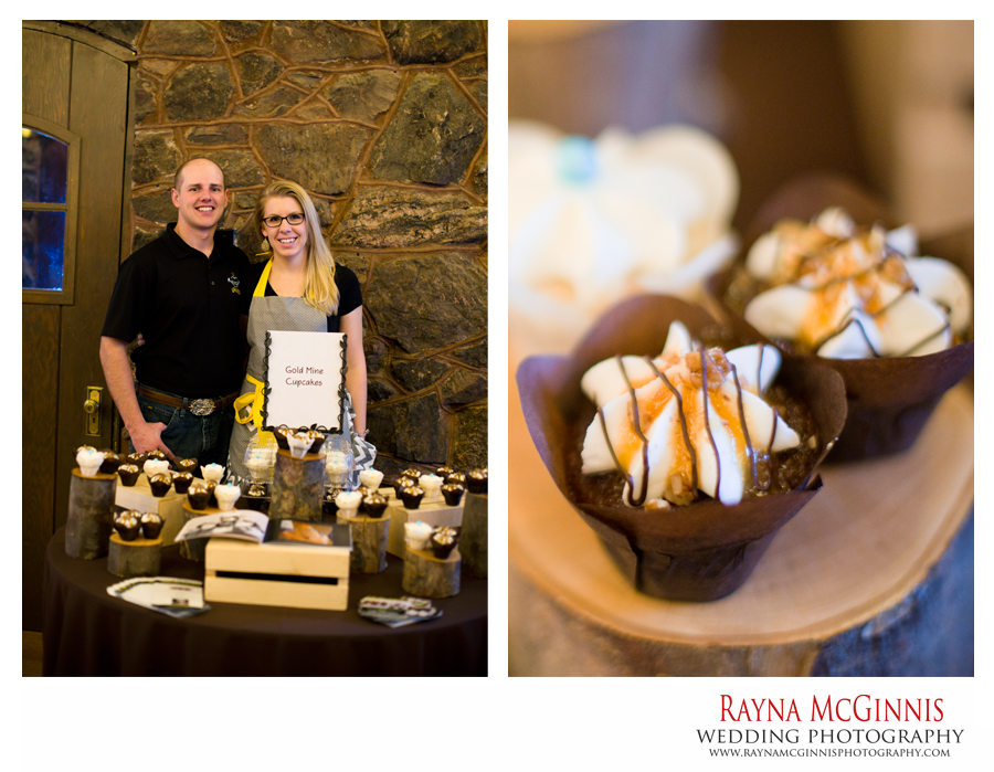 Gold Mine Cupcakes - Boettcher Mansion Wedding Show