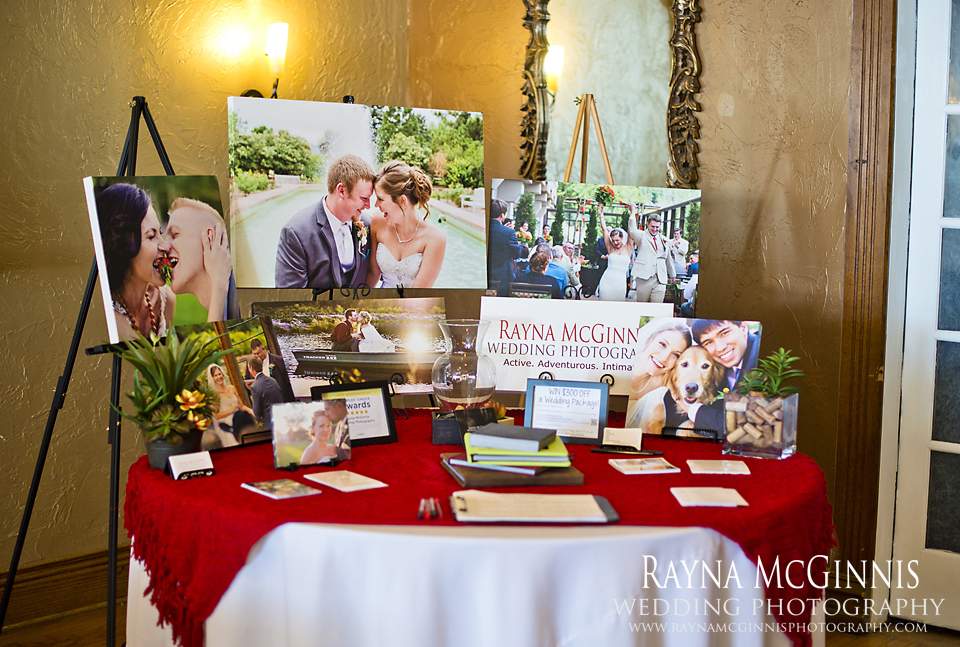 Rayna McGinnis Photography's Table at Liosngate Event Center Bridal Show