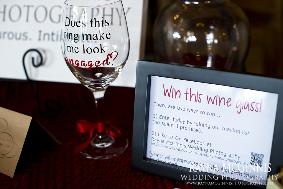 My giveaway - Evergreen Lake House Bridal Show