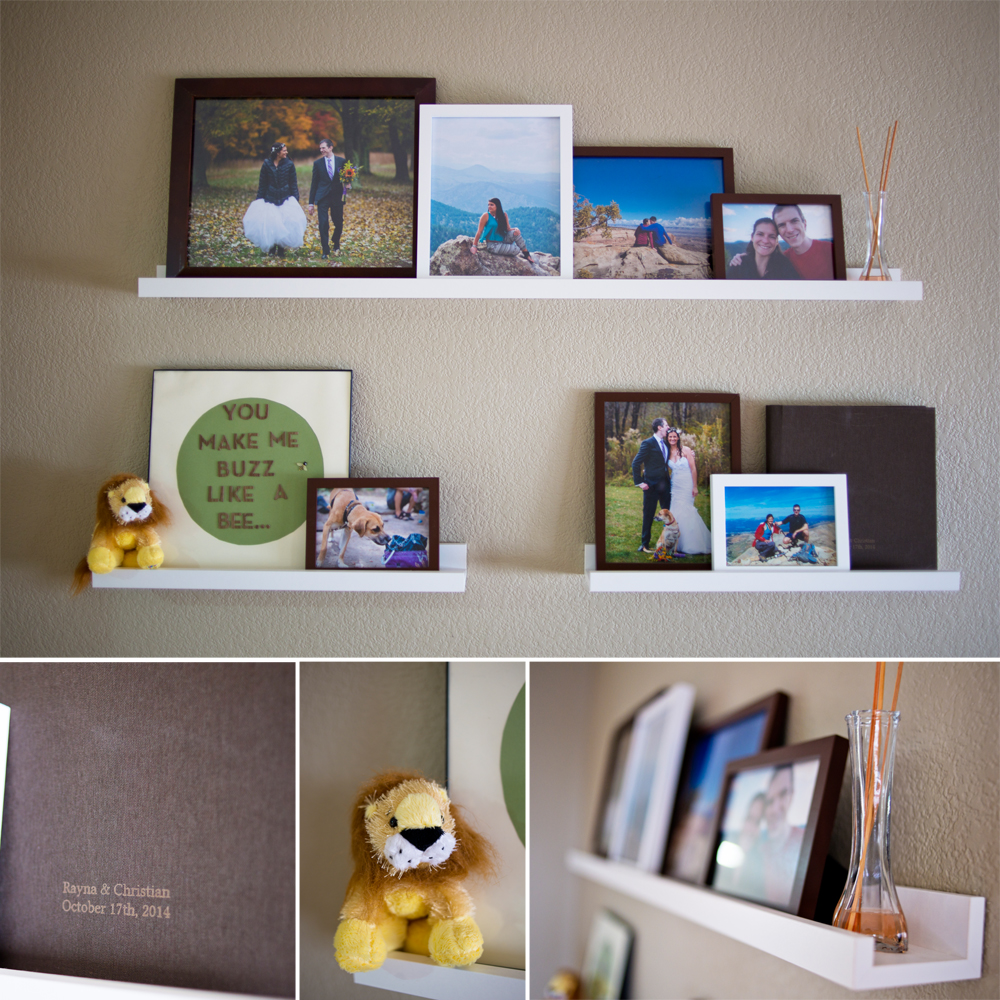 What to do with your wedding photos - a wedding picture collage idea